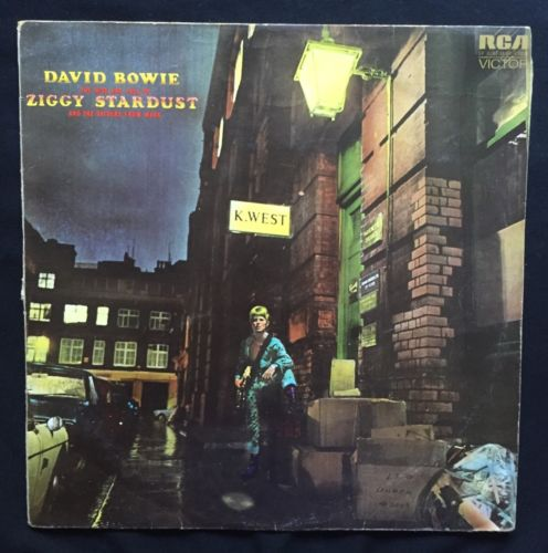 RCA Victor, SF-8287, First UK Pressing: David Bowie. The Rise And Fall of Ziggy Stardust And The Spiders From Mars.